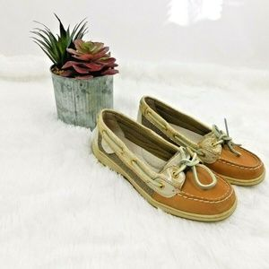 SPERRY Top Sider Boat Shoe ANGELFISH PYTHON 6.5 M